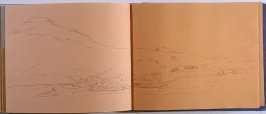 Landscape, seventy-third image from Travel Sketchbook of Antarctica
