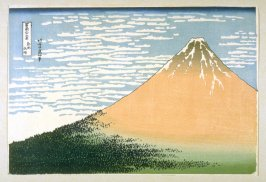 [View of Mount Fuji]- From: 36 Views of Fuji