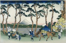 Tokaido Hodogaya - from 36 Views of Fuji