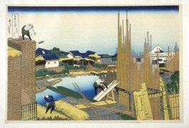 Honjo Tachikawa - from 36 Views of Fuji