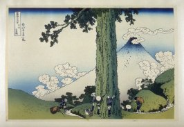 Koshu Mishima-goe - from 36 Views of Fuji