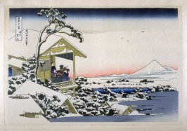Koishikawa Yuki-no-Ashita - from 36 Views of Fuji