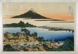 Koshu Tzawn-no-Akatsuki - from 36 Views of Fuji