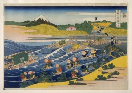Tokaido Kanaya-Fuji - from 36 Views of Fuji