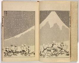 One Hundred Views of Mount Fuji (Nagoya: Eirakuya Tōshirō, 1849, printed later), vol. 3
