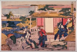 Act 7 (Shichidamme) from the series the Storehouses of Loyalty (Kanadehon chushingura)