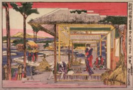Act 6 (Rokudamme) from the series New Perspectivbe Pictures of the Chushingura (Shimpan ukie chushingura)+