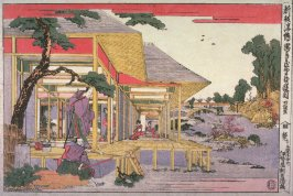 Act 2 (Nidamme). from the series New Perspective Pictures of the Chushingura (Shimpan ukie Chushingura)