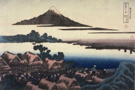Dawn at Isawa in Kai Province, from the series Thirty-Six Views of Mount Fuji