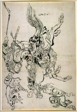 Chinese Warrior on Horseback