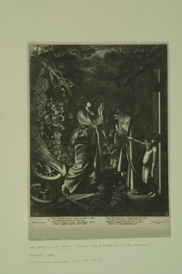 Mocking of Ceres, reverse copy of Hendrik Goudt's etching after Adam Elsheimer's painting