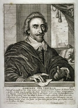 Self-Portrait of Adriaen van de Venne