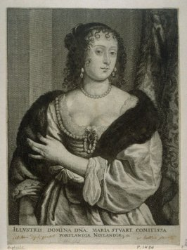 Frances Stuart, Countess of Portland, from The Iconography