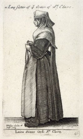 A Lay Sister of the Order of St. Clare