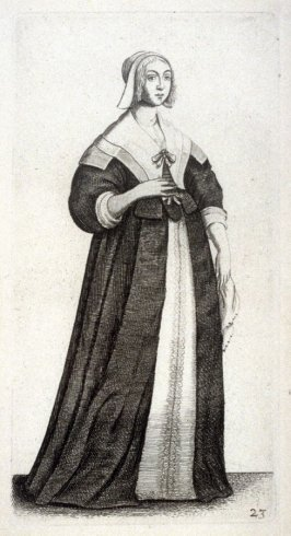 Lady with a white handkerchief