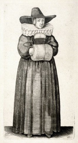 Lady with Ruff and Muff