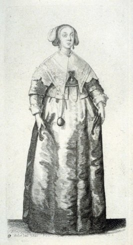 Lady with Pomander on a chain around her neck