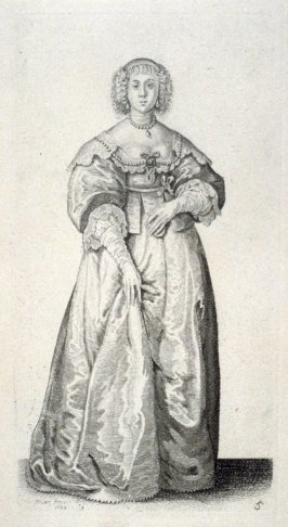 Lady with a Ribbon as a Waist Band