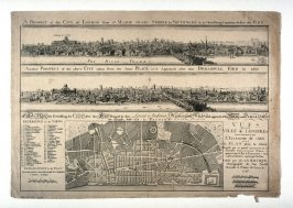 Views of London, before and after the fire