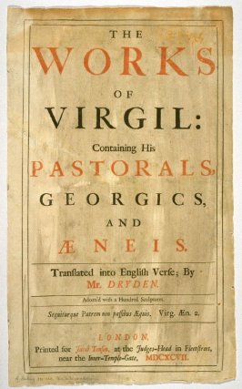 Cover to Virgil's Anead