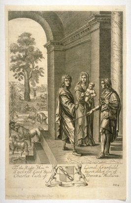 Illustration to Virgil's Anead