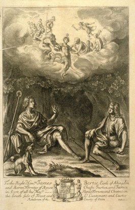 Illustration to Virgil's Eclogues: Daphnis