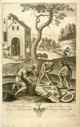 Illustration to Virgil's Georgics: Country Craftsmen