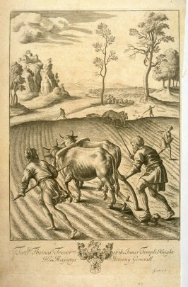 Illustration to Virgil's Georgics: The Ploughman