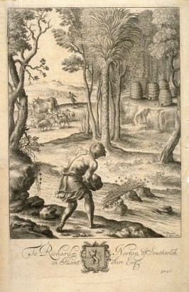 Illustration to Virgil's Georgics: Hiving Bees