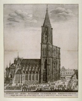 View of the Cathedral at Strassburg