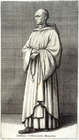 Ordinis Cisterciensis Monachus (Monk of the Cistercian order)
