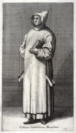 Ordinis Carthusiani Monachus (Monk of the Carthusian order)