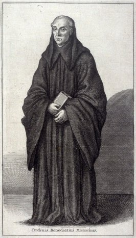 Ordinis Benedictini Monachus (Monk of the Benedictine order)