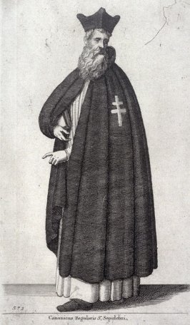 Canonicus Regularis St. Sepulchri (Canon regular of the order of the Holy Sepulchre)