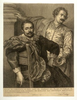 Lucus and Cornelis de Wael, from The Iconography