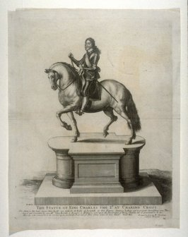 Equestrian Statue of Charles I at Charing Cross