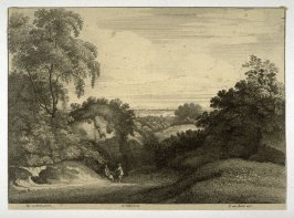 Landscape with traveller and beggar (without date)