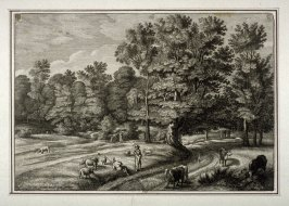 Shepherds in a Forest