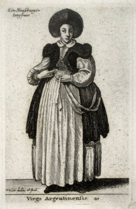 A Young Woman of Strassbourg