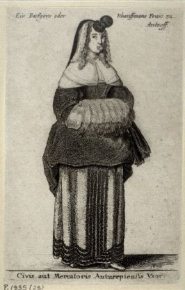 The Wife of an Antwerp Burgher or Merchant
