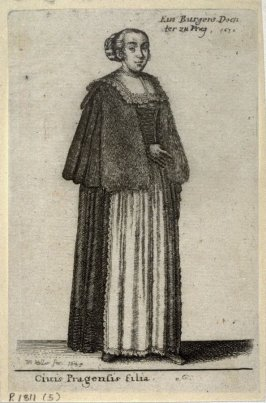 The Daughter of a Prague Burgher