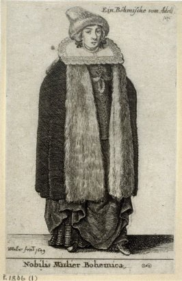 A Noblewoman from Bohemia - 1636