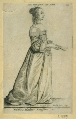 An English Noblewoman - 1644