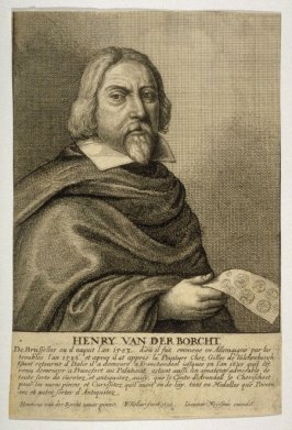 Henry van der Borcht, painter and antiquarian