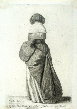 English Noblewoman in Winter Clothing