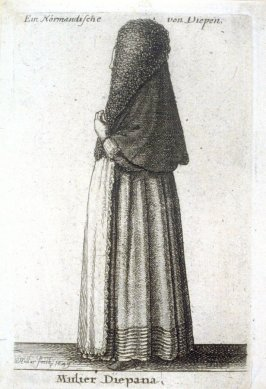 A Woman from Dieppe, Normandy (France)