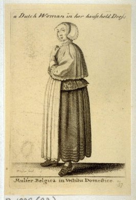 Woman of Holland in Domestic Dress