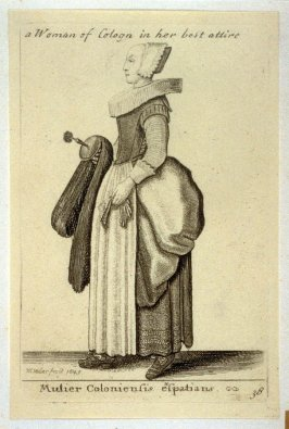 Finely Attired Woman of Cologne