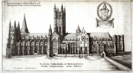 South Prospect of Canterbury Cathedral