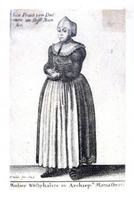 Woman of Westphalia from Aula Veneris